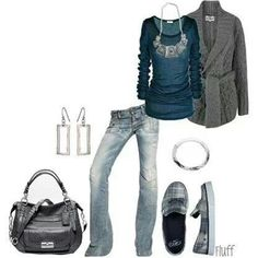 This is my kind of outfit...dressy casual