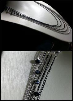Collar - Cadenas y Cristales Checos