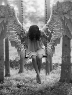 Even angels have break...