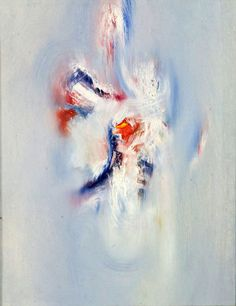 """Daily Art Shot of ∞): Louis le Brocquy, """"Sentient Being,"""" 1964 Oil on linen Irish Painters, Hirshhorn Museum, Old Master, Watercolor Landscape, Watercolor Tattoo, Sculpture, Gallery, Illustration, Artist"""