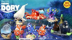 New Finding Dory Disney,Pixar Deluxe Figure Play Set Disney Store Exclus...