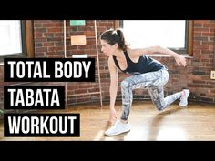 Total Body HIIT Workout - Bodyweight Exercises (15 Minutes) - YouTube