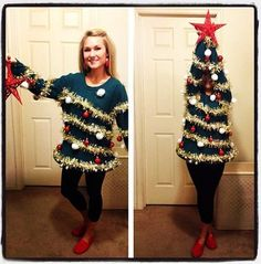 Funny Pictures - Best ugly sweater ever - www.funny-picture...