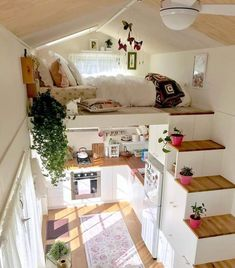 tiny house decor, tiny house design, tiny house interior, modern living room, living room decor We like spacious and airy interiors but the truth is a large house poses high demands in terms of costs and general maintenance House Design, Room Design, Home, Cool Rooms, House Rooms, House Interior, Bedroom Decor, Dream Rooms, Tiny House Design