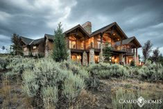 Gorgeous mountain home in Park City, Utah by Cameo Homes Inc. Park City Area Showcase of Homes. Park City Home Builder Mountain Home Exterior, Mountain Homes, Mountain Cabins, Mountain Modern, Cabin Homes, Log Homes, Different House Styles, Fancy Houses, Dream Houses