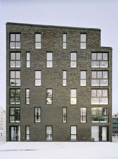 Kjellander + Sjöberg Architects - Annedal Terraces - Elevation