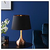 Fox & Ivy Soho Metal Base Table Lamp