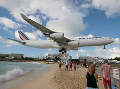 Places I would love to visit (Maho Beach, St. Maarten, Caribbean)