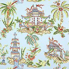 Thibaut wallpaper- Tea House