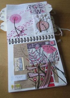 Ideas For Flowers Drawing Ideas Angie Lewin A Level Art Sketchbook, Sketchbook Layout, Artist Sketchbook, Sketchbook Pages, Sketchbook Inspiration, Natural Form Artists, Natural Forms Gcse, Angie Lewin, Color Beige