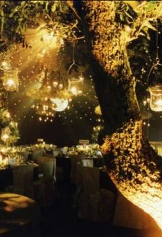 fairy lighting Outdoor Party Lighting http://pinterest.com/wineinajug/outdoor-party-lighting/