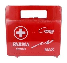 KIT farm Max red with a mouthpiece, First aid kit