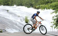 Wheels and Waterfalls: Mountain Biking DuPont State Forest. #MeetTheMoment