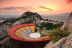 Lycabettus concert hall - Athens Greece