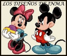 PDF Gráfico Punto de Cruz, Disney 53, Disney Punto de Cruz, Disney, Disney Cross Stitch Pattern