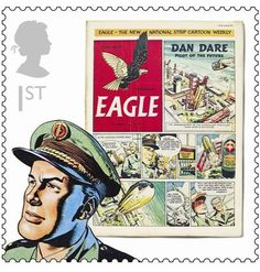 Classic comics celebrated in new Royal Mail stamps
