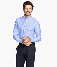 H&M Oxford shirt in premium cotton $49.95