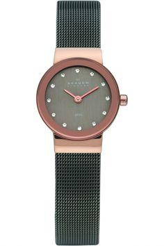 Skagen damen armbanduhr xs analog quarz edelstahl 358xsrm