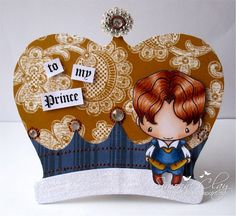 TGF Prince Ian Geeky rubber stamp
