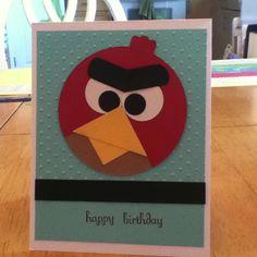 My Angry Birds card!!