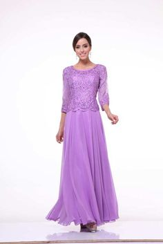 Plus Size Mother of the Bride/Evening Dress PO7024 – The Rose ...
