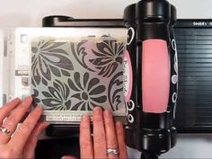 ▶ Dry Embossing with Stencils - YouTube