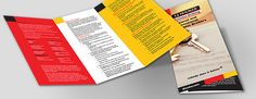 An example of the professional brochures available at Discount Printing