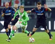 Debruyne verkozen tot beste offensieve middenvelder in Duitsland, boven Götze en Müller.