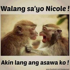 Pics For > Funny Captions For Selfies Tagalog