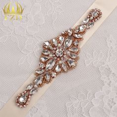(30pieces) Wholesale Hotfix Cristal Stones and Crystal Rose Gold Rhinestone…