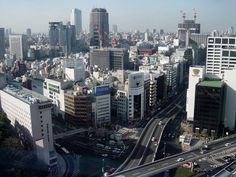 Almost the entire national government of Japan lies just to the east of this massive business and entertainment district. San Francisco Skyline, New York Skyline, Tokyo, The Past, Japan, In This Moment, Film, Travel, Police