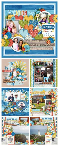 #papercrafting #scrapbook #layout idea
