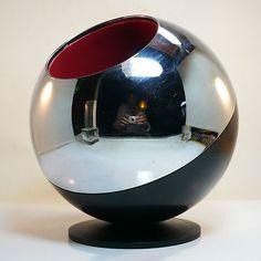 Quist Flaschenhalter Sektkühler • Space Age • Panton / 60/70er Design Klassiker
