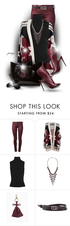 """""""Cardi Cozy"""" by rockreborn ❤ liked on Polyvore featuring Citizens of Humanity, Acne Studios, Lucky Brand, Viktor & Rolf and Gucci"""
