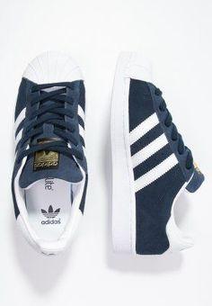 buy cheap f5d37 b8e8b adidas Originals SUPERSTAR - Sneaker low - collegiate navywhite -  Zalando.de Adidas