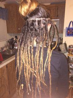 Half dreads