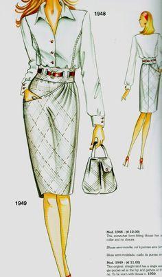 Marfy 1949 skirt