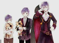 Por Un Simple Error-Diabolik Lovers Anime Oc, Anime Kawaii, Otaku Anime, Manga Anime, Girls Anime, Cute Anime Boy, Anime Guys, Kanato Sakamaki, Diabolik Lovers Ayato