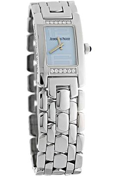 Certified Pre-Owned Audemars Piguet Promesse Stainless Steel Quartz with #Diamonds #WatchStories
