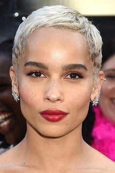 Zoe Kravitz Shared A Champagne Toast While Attending A