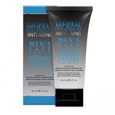 Mineral Men Antiaging Face Scrub