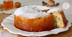 La torta ricotta miele e noci senza burro una torta semplicissima, senza zucchero ma solo con il miele, facilissima e senza dover sbattere nulla