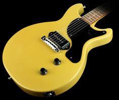 Gibson Billie Joe Armstrong Signature Les Paul Junior Double Cutaway Electric Guitar TV Yellow