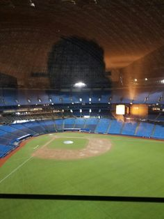 The view from our hotel room:) Baseball Field, Toronto, Room, Bedroom, Baseball Park, Rooms, Peace