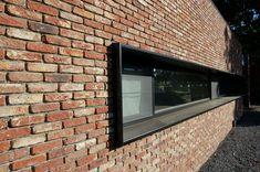 Home Building Design, House Design, Renovation Facade, Exterior Wall Design, Home Decor Catalogs, Brick Architecture, Window Design, Windows And Doors, House Colors