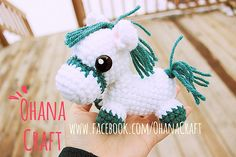 "Horse Amigurumi Free PDF Pattern  ( click ""download"" or ""free Ravelry download"") here: http://www.ravelry.com/patterns/library/xiao-maer-giddy"