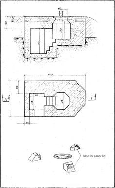 bunker plan 665 tobruk - Google Search