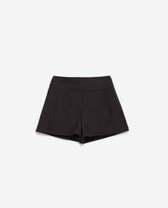 SHORT TIRO ALTO-Pantalones-TRF | ZARA España
