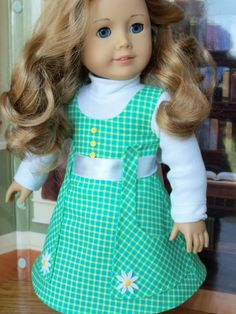 PDF Sewing Pattern for 18 American Girl Dolls / by Farmcookies