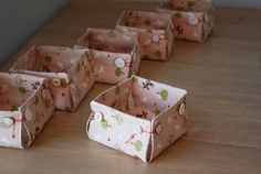 9. Button Boxes - 9 DIY Fabric Baskets for Keeping Your Home Beautifully Organized ...   All Women Stalk